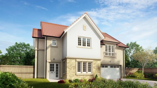 Dargavel Village Cala Homes New Development Housetype External
